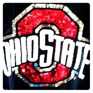 ♡Long sleeve♡pink♡Ohio state shirt♡